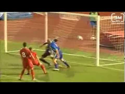 San Marino U21 1-0 Wales U21 (06.09.2013) - Goal for San Marino