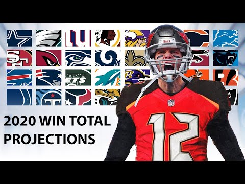 2020 Win Total Projections for Every Team
