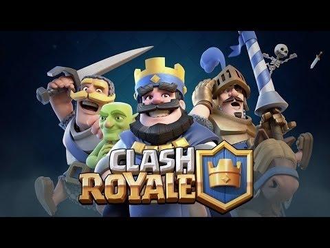 Clash Royale - Pegando a prática novamente