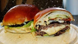 Rezept: Der Jucy Lucy - Burger Einfach Und Schnell Selber Machen