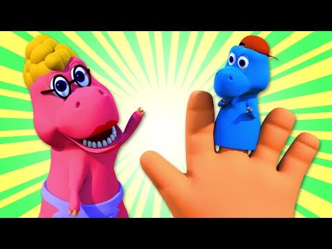 Dinosaur Finger Family Song + More Rhymes & Kids Songs by Nursery Rhymes Street |