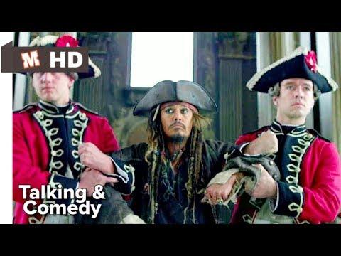 Pirates Of Caribbean 4 Hindi On Stranger Tides Talking Scene