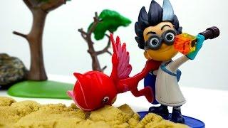 Герои в масках: видео про игрушки. Ромео похитил Алетт! Бюро находок.