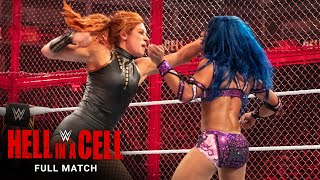 FULL MATCH - Becky Lynch vs. Sasha Banks - Raw Women's Title: WWE Hell in a Cell 2019