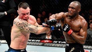 UFC 245: Veja o nocaute de Kamaru Usman sobre Colby Covington