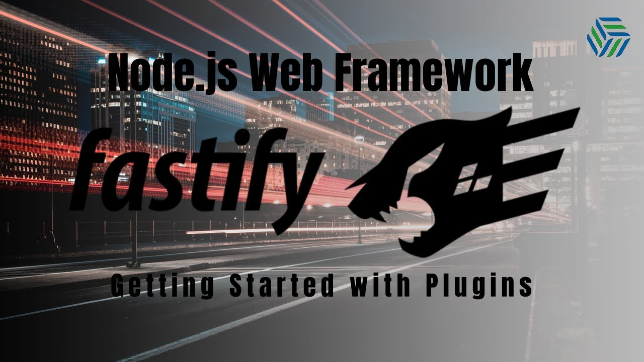 Plugins 101 | Fastify Web Framework for Node.js | REST API Routes,  .env, MongoDB