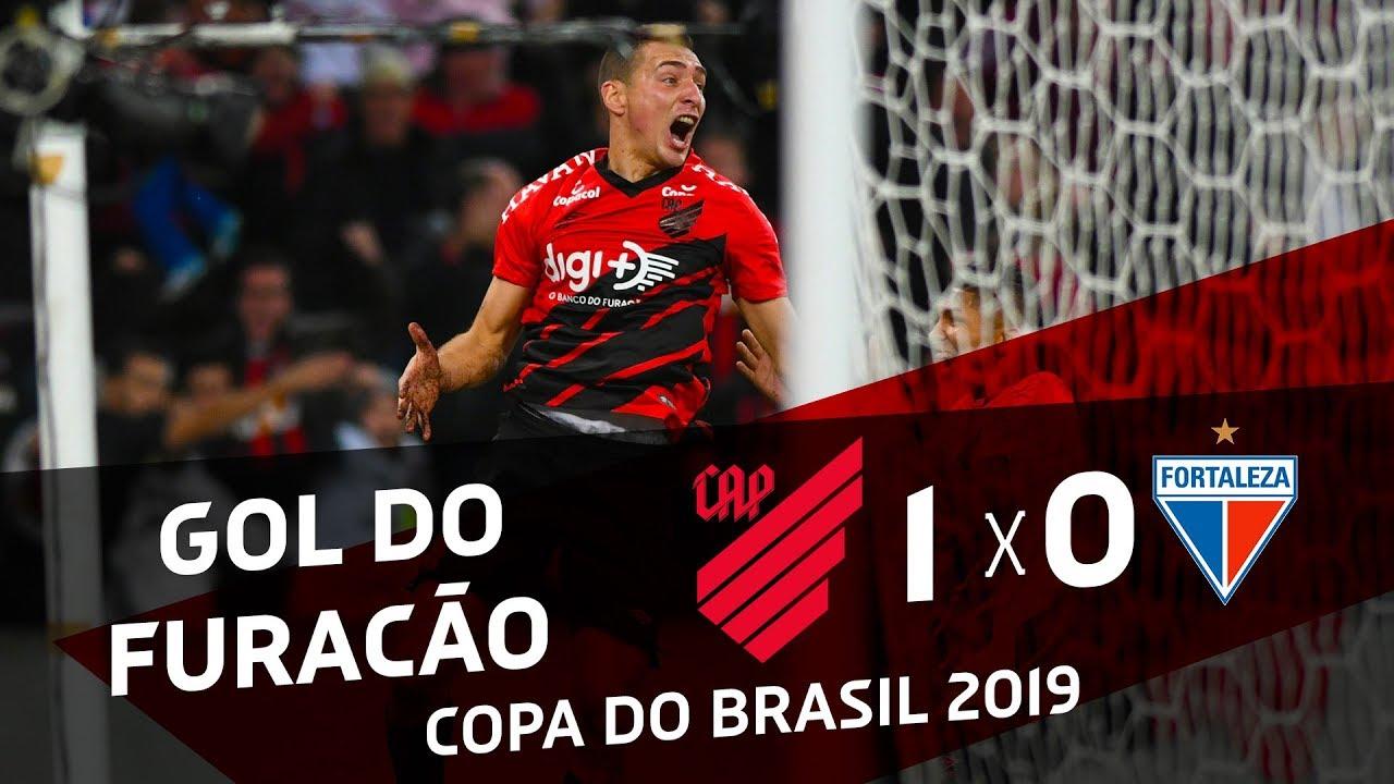 Athletico Paranaense 1x0 Fortaleza Gol De Marco Ruben