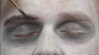 Vampire Halloween Makeup Tips & Instructions : Creating Eyebrows for Vampire Halloween Makeup
