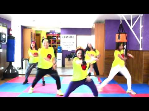 Rockabye song zumba choreography by Zstars