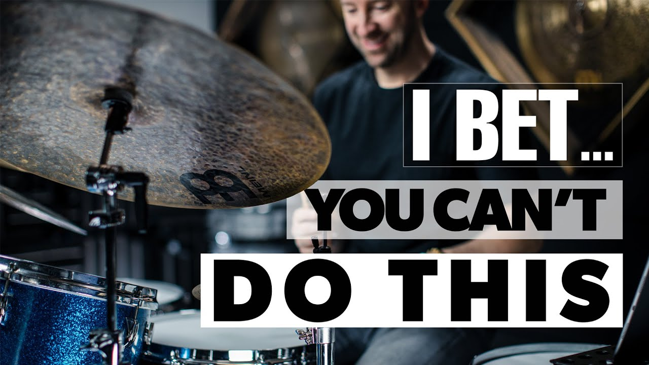I Bet You Can't Do This | Drum Lesson - YouTube