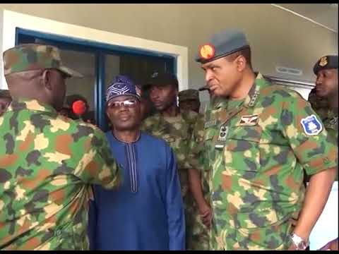 Air Chief Commissions 115 Special Operations Group Hospital In Portharcourt