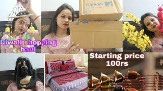 Diwali shopping haul 2019llAmazon, flipkart shopping haul 2019 life with krish