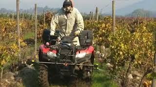 Agromatch: Servicios de aplicación con moto herbicida