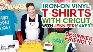 Cricut Iron-On T-Shirt Tutorial - Beginner Friendly!