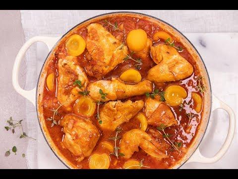 apricot chicken casserole