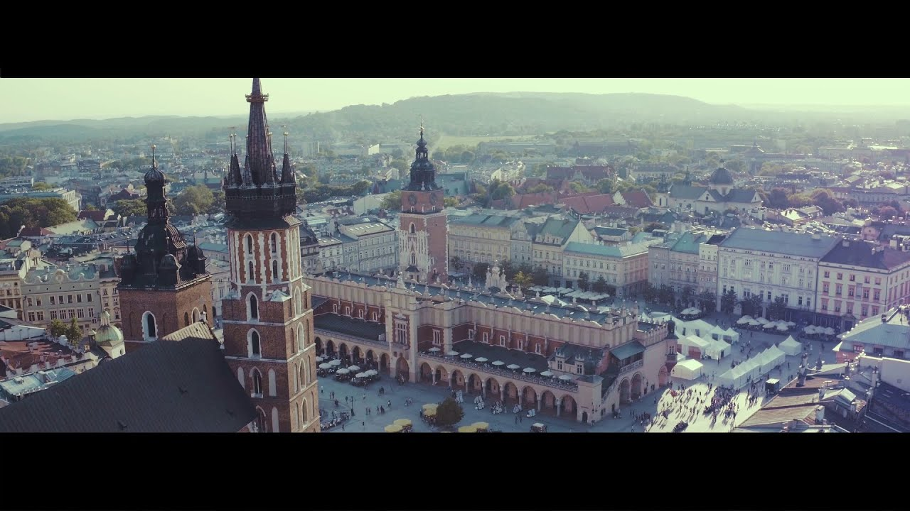 Krakow - Promotional Video from a drone