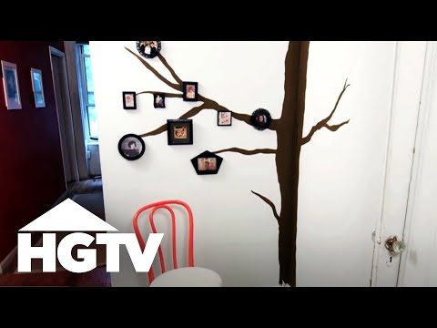 DIY Family Photo Tree
