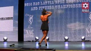 Svetlana Pugacheva 2014 NAC Latvia Open Bodybuilding and Fitness Championships 23.11.2014