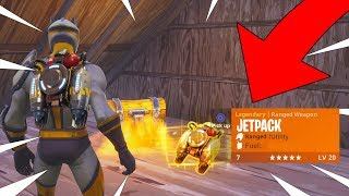 FORTNITE NEW JETPACK GAMEPLAY! THIS JETPACK IS SO GOOD! INSANE JETPACK PLAYS! Coming soon
