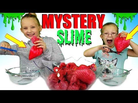 MYSTERY BAG SLIME CHALLENGE!!!