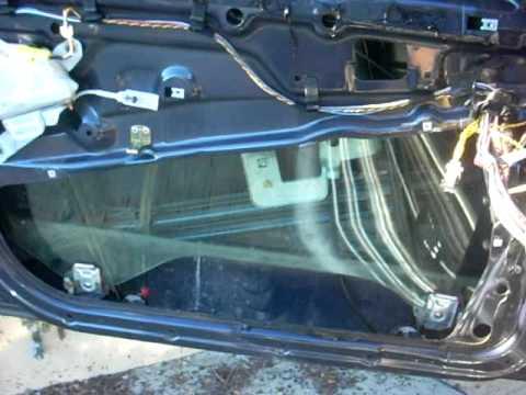 Bmw E39 Window Regulator Driver Front Door Fell Off Clip