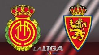 Gol de Acevedo (0-1) en el RCD Mallorca - Real Zaragoza - HD