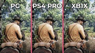 Red Dead Redemption 2 – PC 4K Max vs. PS4 Pro vs. Xbox One X Graphics Comparison
