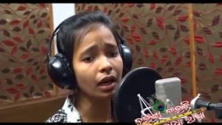 BAINSI GAUCHI RADHA RADHA  ODIA BHAJAN VIDEO MAKING OF SINGER BISWAJITA MAHARANA / SUNIL MAHARANA
