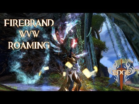 gw2 wvw firebrand roam~ 7vs20!!!~ outnumbered fights~ 1v1s~ showing 3different builds