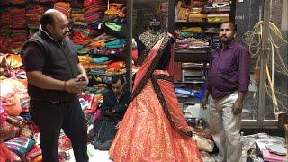 Cheapest Lehenga shop in Chandni Chowk Delhi (Proper Wholsale shop)