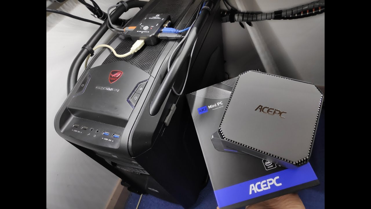 ACEPC AK2 Mini PC Review and cool project :)