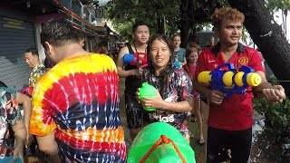 Songkran 2017 – The World's Biggest Water Fight. Thai New Year 2017
