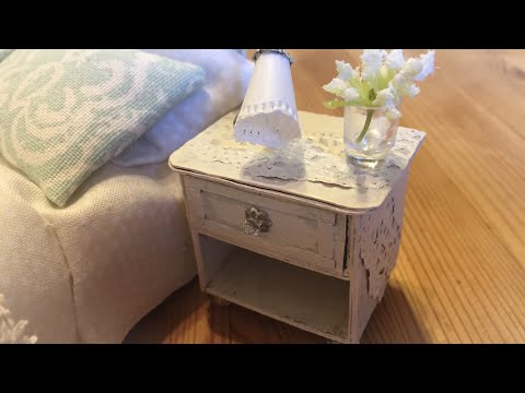 miniature-tutorial:-bedside-table-/-nightstand-/-nachttisch-shabby-chic-look