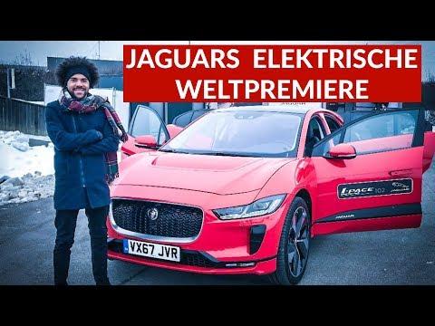 Jaguars Erstes Elektroauto: Weltpremiere Jaguar I-PACE