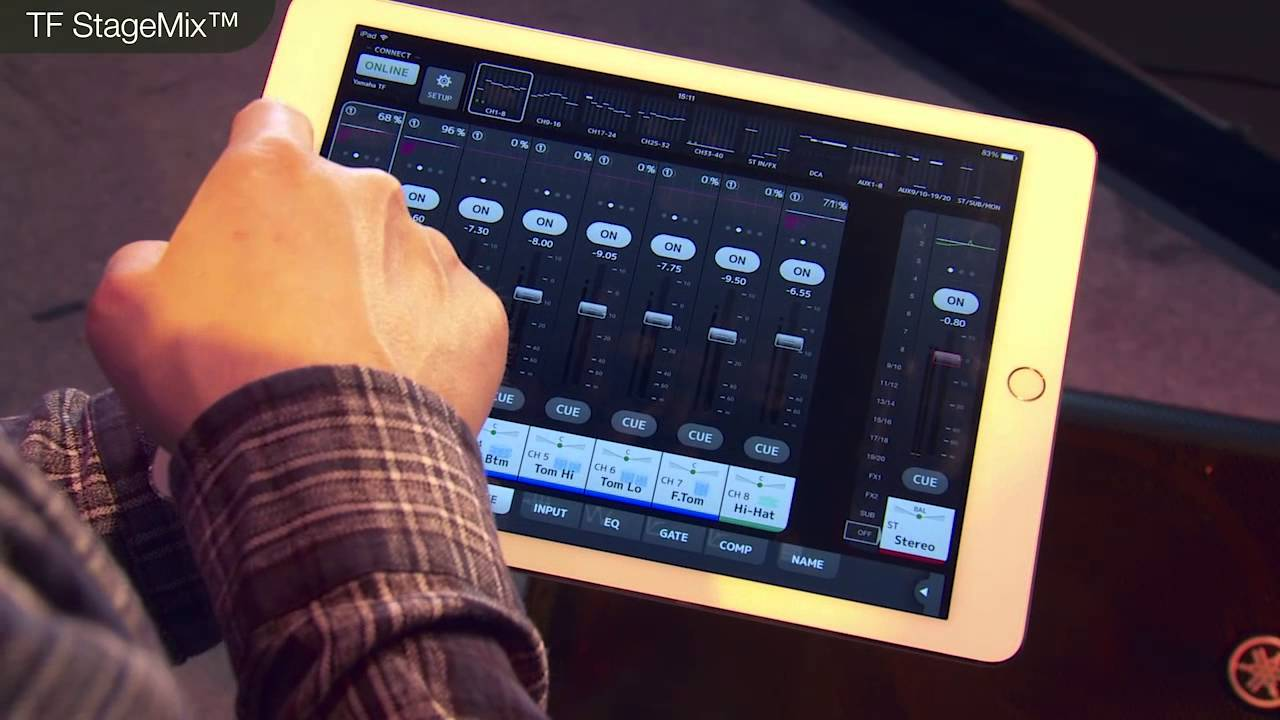 Yamaha tf series tutorial video editors and apps youtube for Yamaha tf series