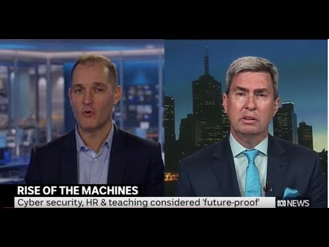 ABC News - Ross Dawson and Terry Barnes on the future of jobs