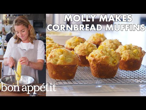 Molly Makes Cornbread Muffins with Honey Butter   From the Test Kitchen   Bon Appétit