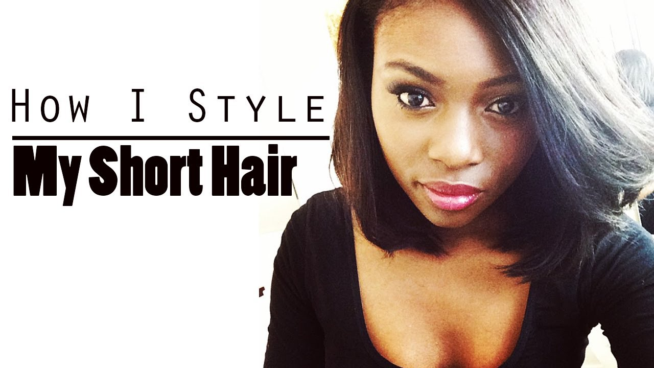 youtube short hair styling how to style hair 7328 | maxresdefault