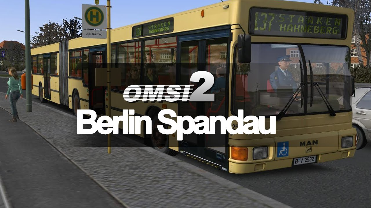 omsi 2 linie 137 in berlin spandau omsi bus simulator test serie youtube. Black Bedroom Furniture Sets. Home Design Ideas