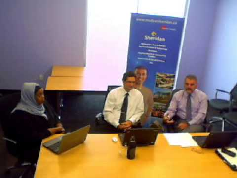 Video Chat with Sheridan College Faculty of Applied Science and Technology