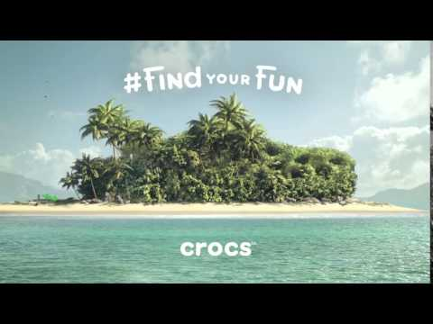 Crocs #findyourfun island commercial