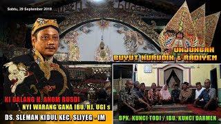 LIVE WAYANG LANGEN BUDAYA H ANOM RUSDI SLEMAN SLIYEG INDRAMAYU MALAM 29 SEPTEMBER 2018