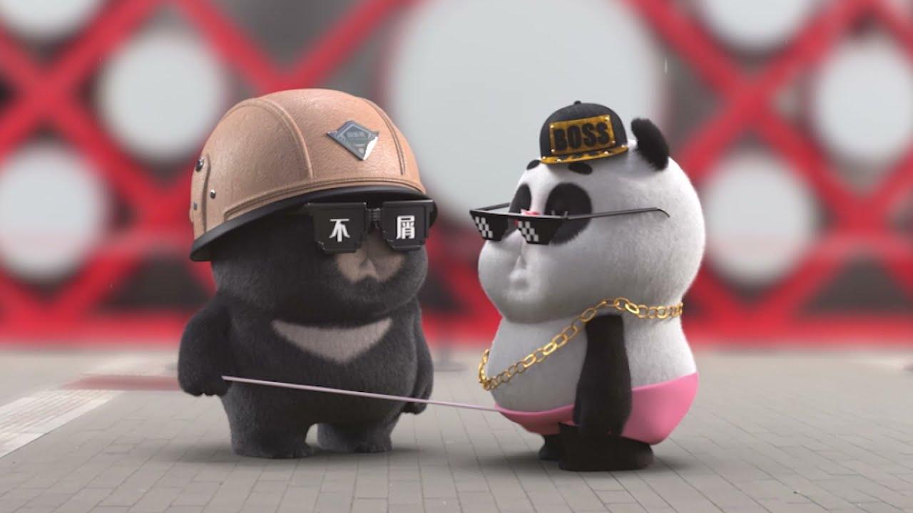 【Bamboo Panda ❤️】Fly to the SKY   Chinese Short Animation   熊猫班卜 #panda #cute #animation