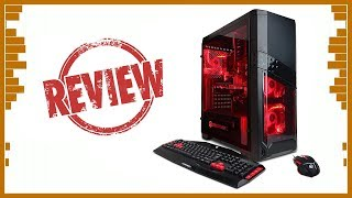 CYBERPOWERPC Gamer Ultra GUA3120A Gaming Desktop Unboxing+Reviews
