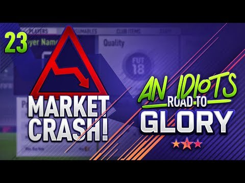 TEAM OF THE YEAR MARKET CRASH!!! AN IDIOTS ROAD TO GLORY!!! Episode 23