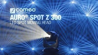 Cameo AURO® SPOT Z 300 - LED Spot Moving Head