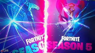 🔴 SEASON 5 GAMEPLAY! ~ TOP PS4 SOLO PLAYER ~ 1800+ WINS 🏆 ~ (Fortnite Battle Royale)