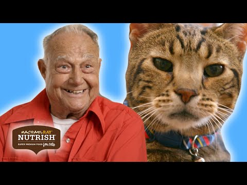 Thumbnail: We Surprised An Assisted Living Home With Therapy Cats //Presented By BuzzFeed & Rachael Ray Nutrish
