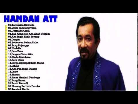 Hamdan ATT - Full Album   Tembang Kenangan   Lagu Dangdut Lawas Nostalgia 80an - 90an Terbaik