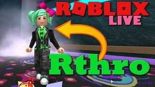 NEW Rthro AVATAR BODY LIVE! Roblox Live with SallyGreenGamer